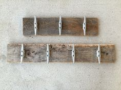 Boat cleats barnwood rustic industrial hooks eco-friendly towel rack outdoor shower beach towels pool Beach House Dreams Outer Banks NC OBX