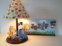 Country madera painting lamp Diy Gift Box Template, Painting Lamps, Safari Party, Ribbon Crafts, Metal Crafts, Wood Toys, Kids Furniture, Kids Room, Baby Shower