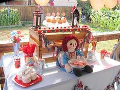 Raggedy Ann Birthday Party
