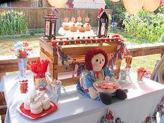 Raggedy Ann Birthday Party