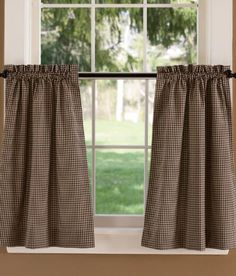 Colebrook Tier Curtains - Country Curtains®