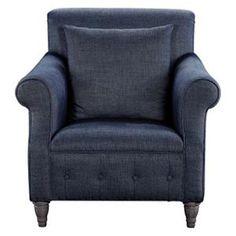 Victoria Chair in Indigo | Nebraska Furniture Mart