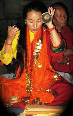 Khadro la - Female oracle and Tibetan Buddhist teacher