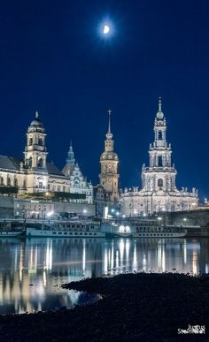 Blue hour, #Dresden, Saxony, Germany