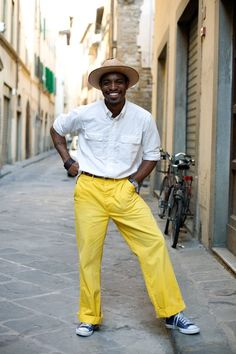 """When traveling abroad, always make sure you let her dress you so you appear to know what you're doing."" #Andre3000"