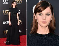 Felicity Jones In Alexander McQueen – 2014 Hollywood Film Awards