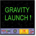 There are a lot of challenges with space flight. One is simply getting the rocket off the ground. This is because the thrust to launch a rocket has to work against the force of gravity. So, there are two forces at play in this game: earth's gravitational pull and thrust. Your kids will play with a computer interactive that demonstrates these two forces in action.