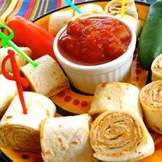Clemson Girl Tailgate Recipe - Taco Tortilla Rollups