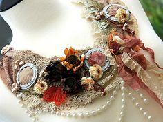 MARIE ANTOINETTE Vintage Fabric Repurposed by KatherineCooper, $295.00
