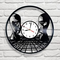 Pink Floyd The Division Bell design vinyl record clock home decor art gift move