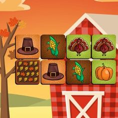 Before you can give thanks and tuck into your delicious #Thanksgiving #dinner with your #family, you need to help sort out this tasty #food! Fun Thanksgiving #Arcade #Puzzle #Game.