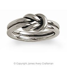 Lovers Knot ring, this is my promise ring from my then boyfriend, now husband :)