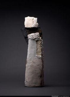 Brigitte Long  derviche ht 80 cm raku-schiste 2007