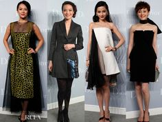 Chinese Celebrities at Dior 2013 Haute Couture in China