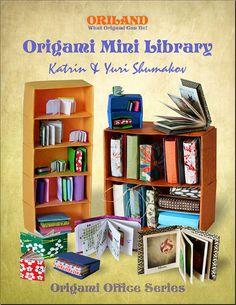 Origami Mini Library by Katrin Ray, via Flickr