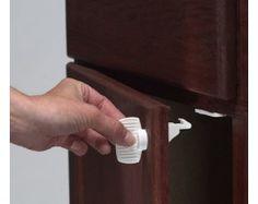 Adhesive Mount Magnet Cabinet Lock : Starter Set, $16.99