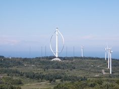 The are many more kinds of turbines than just your run-of-the-mill windmill. Here are nine wildly different ways to harness energy from the air Vertical-Axis Wind Turbines Panic Of 1873, Vertical Windmill, Sun Panels, Before The Flood, Creta, Water Quality, Wind Power, Environmental Issues, Earth Science