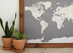 DIY Pinboard DIY Pinboard World Map With Push Pins I Want To - World pinboard map wood framed