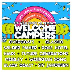 The Wild Honey Pie announces lineup for summer camp music fest Welcome CampersWithGuitars