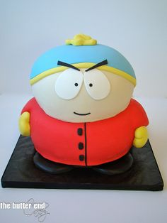 The Butter End Cakery.March 2014.04 - South Park Cartman cake