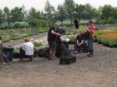 BBC film crew at Nursery