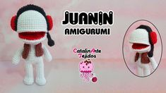 Juanin Amigurumi 31 minutos | CatalinArte Tejidos - YouTube Crochet Hats, Youtube, Amigurumi, Tejidos, Knitting Hats, Youtubers, Youtube Movies