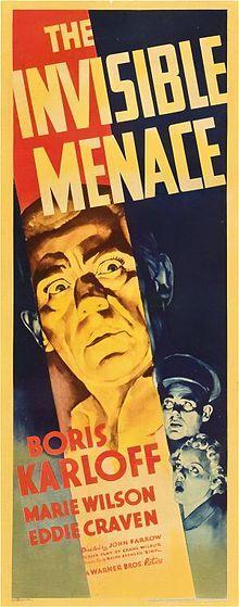"""The Invisible Menace"". (1938)"