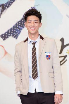 """ Jisoo at Sassy Go Go's press conference. Korean Face, Cute Korean, Korean Men, Asian Actors, Korean Actors, Ji Soo Actor, Sassy Go Go, Moorim School"