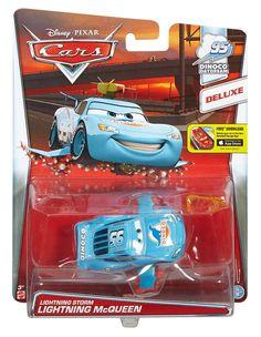 Disney Pixar Cars Toon DRAGON LIGHTNING McQUEEN avec huile taches très rare!!!