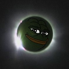 Eclipse Pepe the rarest of all is coming. Upvote and praise the Sun for full blessings.