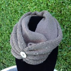 A personal favorite from my Etsy shop https://www.etsy.com/listing/242701258/handmade-knit-infinity-cowl-scarf-with