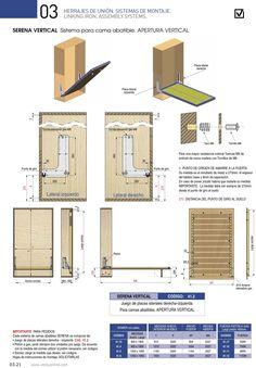 Herrajes Verdu Cama escamoteable Folding Furniture, Multifunctional Furniture, Folding Beds, Smart Furniture, Space Saving Furniture, Cama Murphy, Murphy Bed Desk, Murphy Bed Plans, Bedroom Bed Design