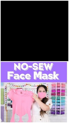 No sew face mask Diy Mask, Diy Face Mask, Face Masks, Sewing Patterns Free, Free Pattern, Pattern Sewing, Religious Books, Pocket Pattern, The New School
