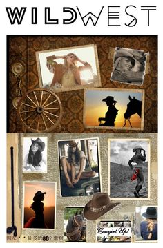 """""""Wild West Style"""" by sheri-gifford-pauline ❤ liked on Polyvore featuring Polaroid, Vanessa Mooney, cowgirl and wildwest"""