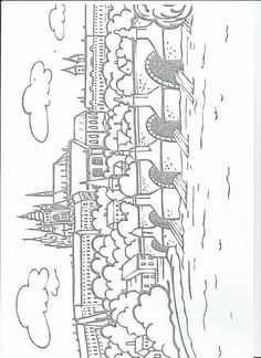 Colouring Pages, Coloring Books, Elementary Science, Kids Education, Prague, Geography, Worksheets, Homeschool, Clip Art