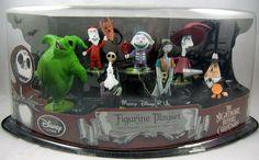 Nightmare Before Christmas Figurine Playset