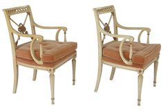 Neoclassical Chairs, Pair - One Kings Lane - Vintage & Market Finds - Furniture