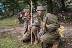 WW2 Greek Army 1940 Reenacting Team - Bringing History to life, 76 years after