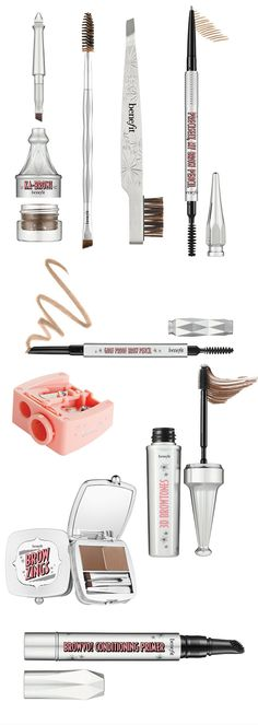 Groom, highlight, fill, shape, and get your brows in shape with the new Benefit Brow Collection for Summer 2016. The new Benefit Brow Collection unleashes a host of tools for getting your brows in tip