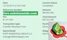 Cuarto pago en FortAdPays