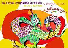 Galicreques 2009. Festival Internacional de Títeres en Santiago de Compostela