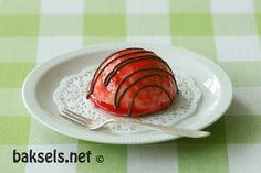 baksels.net   Suikervrije mango-framboos bolgebakjes http://www.baksels.net/post/2013/08/31/Suikervrije_taart(jes).aspx
