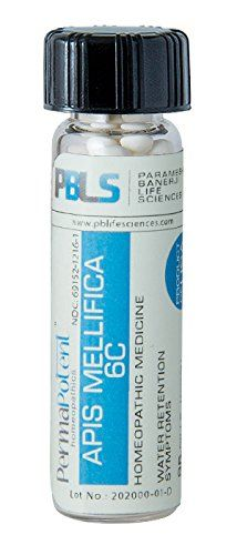 Apis mellifica 6C 96 Pellets Homeopathic Product by Paramesh Banerji Life Sciences Made in USA -- You can find out more details at the link of the image. Note: It's an affiliate link to Amazon.