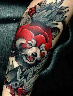 Ole red panda