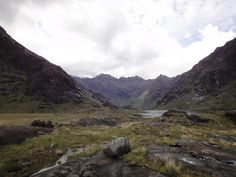 """anthony-j-sargeant-scottish: """" Anthony J Sargeant took this photograph looking up Glen Coruisk towards the Cuillin Mountains on Isle of Skye in Scotland. """" Anthony Sargeant thought this place was wonderfully desolate - even on a sunny august day Kyle Of Lochalsh, Landscape Photographers, Island, Mountains, Places, Photographs, Travel, Videos, Remote"""