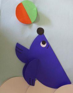 seal craft idea for kids   Crafts and Worksheets for Preschool,Toddler and Kindergarten