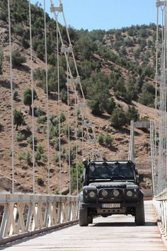 #ani4x4 #bridge #LandRover #LandRoverDefender Land Rover Defender #Morocco #Marruecos