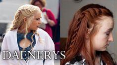 Game of Thrones Hair Tutorial - Daenerys Targaryen Season 4