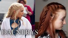 Game of Thrones Hair Tutorial - Daenerys Targaryen Season 4