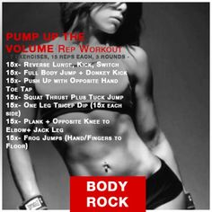 'Pump Up The Volume' Rep WORKOUT | Hiit Blog